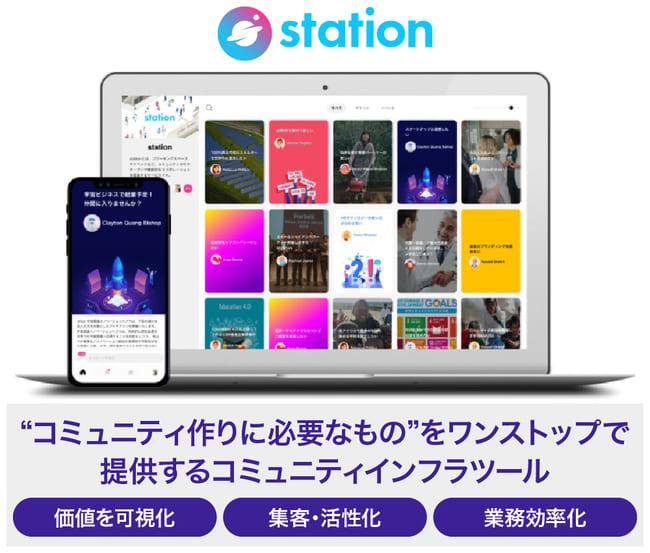 stationのサービス画像